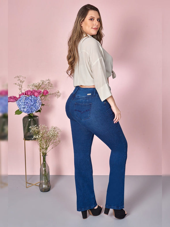 'Right Here' Butt Lift Levanta Cola Jeans 12805