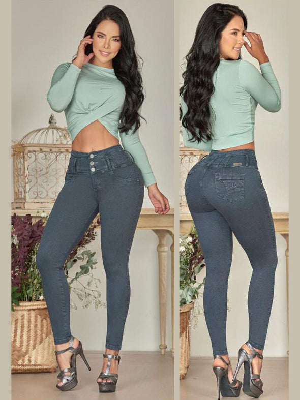'Pixie' Butt Lift Levanta Cola Jeans 12822