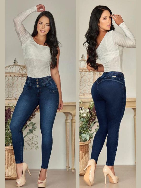 'Sweetheart' Butt Lift Levanta Cola Jeans 12829