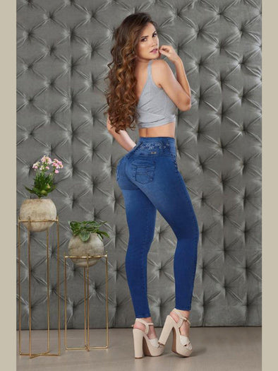 'Free Spirit' Butt Lift Levanta Cola Jeans 12848