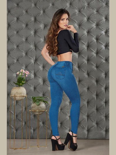 'Promises' Butt Lift Levanta Cola Jeans 12849