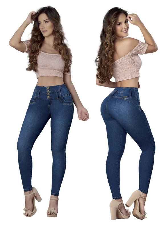 'July' Butt Lift Levanta Cola Jeans 12851