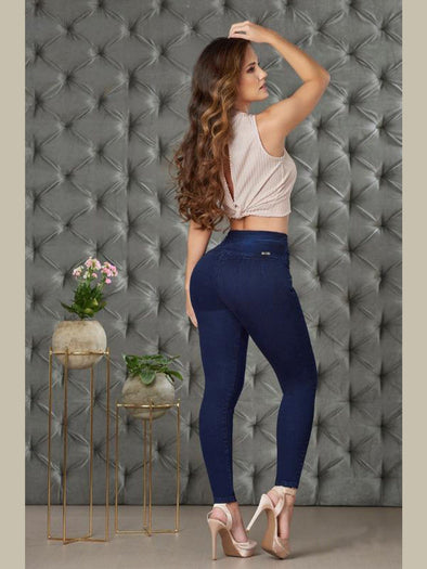 'Miss Independent' Butt Lift Levanta Cola Jeans 12852