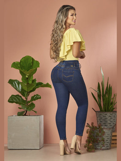 'Level Up' Butt Lift Levanta Cola Jeans 12861