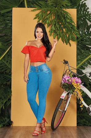 """Salsa"" Push up Jeans Levanta Cola 10557"