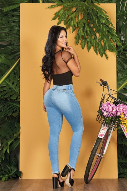 """Rigid"" Push up Jeans Levanta Cola 10559"