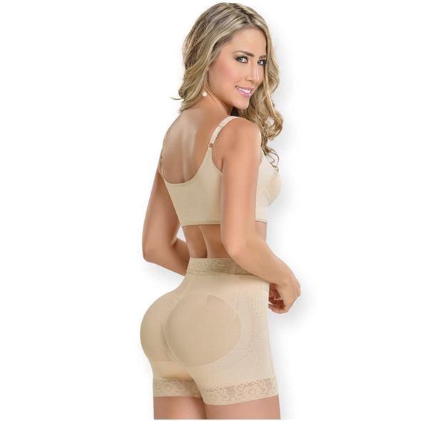 High Waist Butt Lifter Shorts Fajas MyD 0311