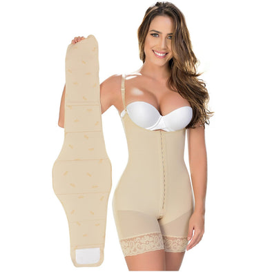 High Compression Tummy Board Fajas MyD 0100