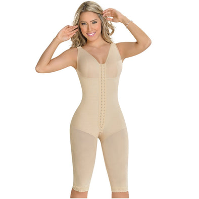 Plus Size Body Shaper with Bra by Fajas MyD 0120 | 2XS - 4XL