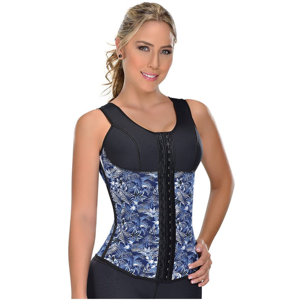 Sports Tropical Waist Trainer w/Bra Fajas MyD 0550