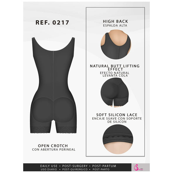 Thick Strap Vest Body Shaper Fajas Salome 217
