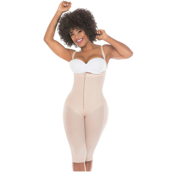 Fully Body Full Legs Body Shaper Fajas Salome 515