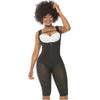 High Compression vest Shaper to the Knee w/ Thick Straps & High Back Fajas Salome 517