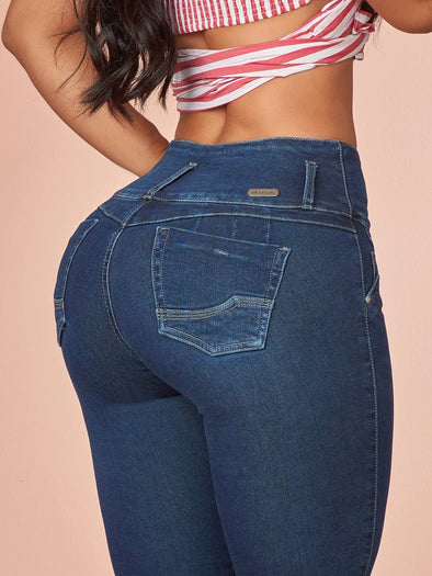 'Barbie' Butt Lift Levanta Cola Jeans 12313