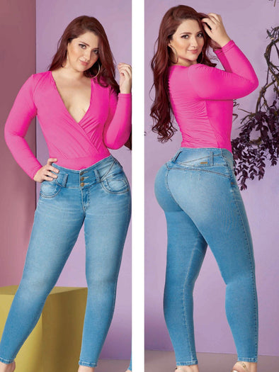 'Honey' Butt Lift Levanta Cola Jeans 11885