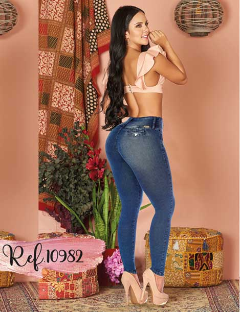Butt Lifting Levanta Cola Jeans 10982