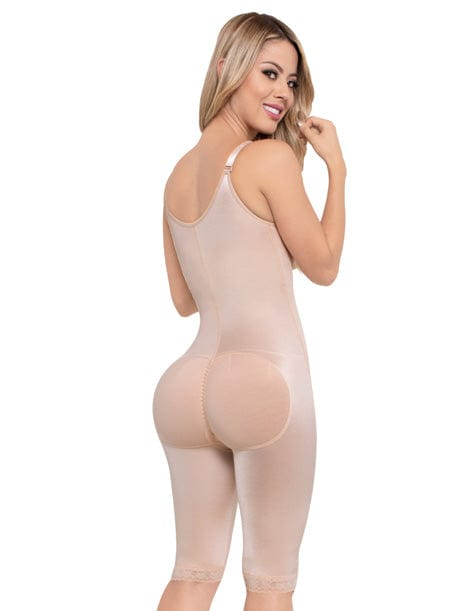 Seamless Daily Use Colombian Knee Length Girdle NS084