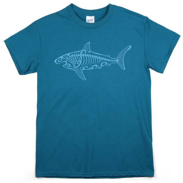 """SP Shark"" Men's 100% Cotton Short Sleeve Tee"