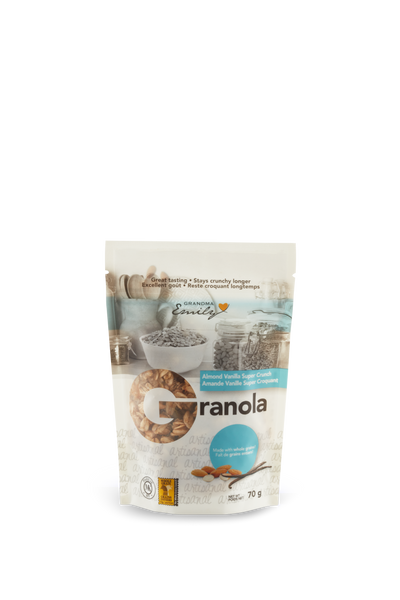 Almond Vanilla Super Crunch (70g)