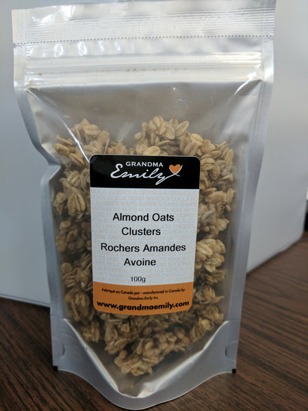 Clusters Almond Oats (100g)