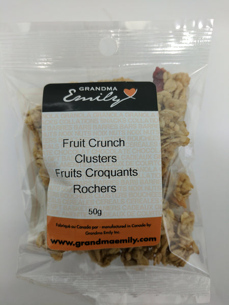 Clusters Fruit Crunch (50g)