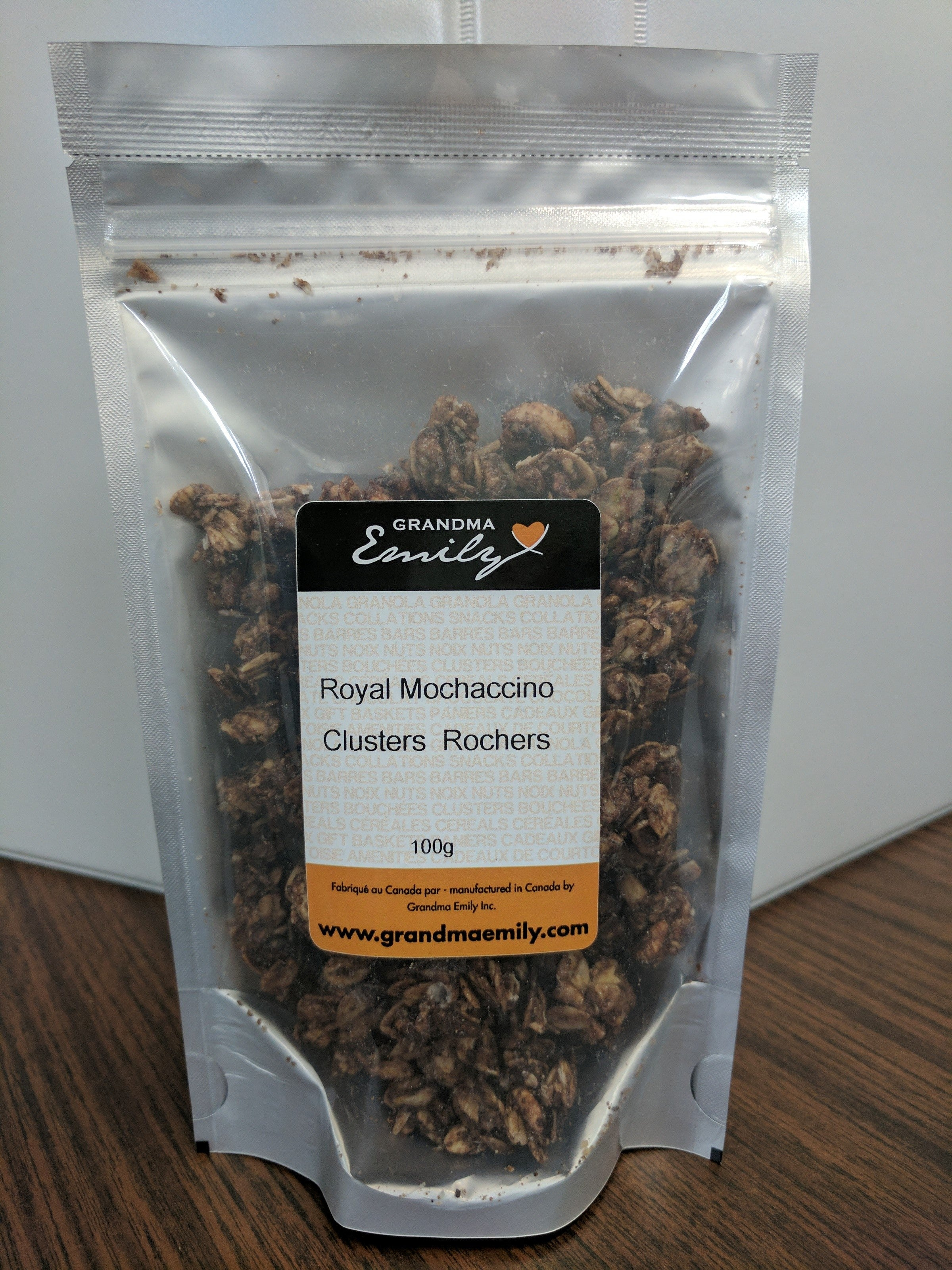 Clusters Royal Mochaccino (100g)