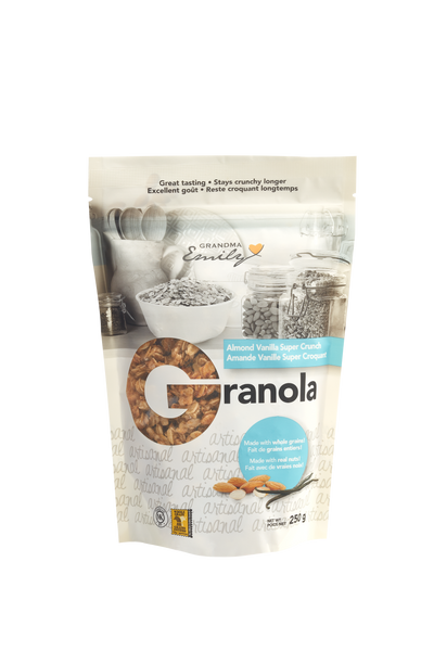Almond Vanilla Super Crunch Granola (250g)