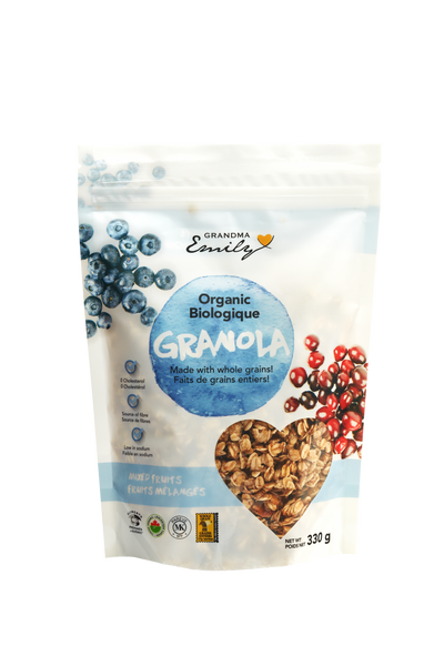 Organic Mixed Fruit Granola (330g)