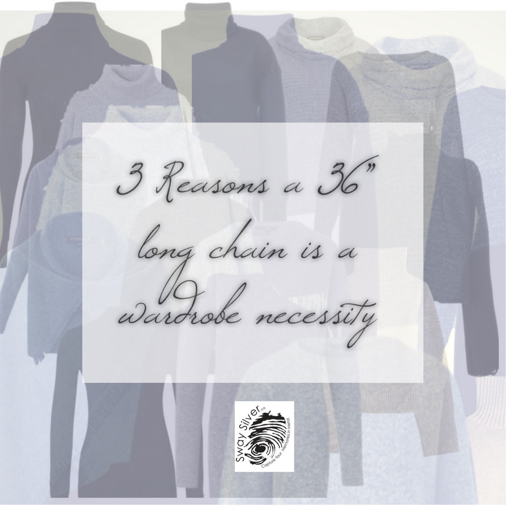 3 Reasons a Long Chain is a Wardrobe Necessity
