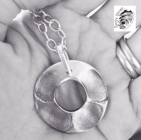 Fingerprint Jewellery for Moms of Grown Ups