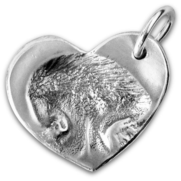Innie M - XL Heart Pet Nose Pendant
