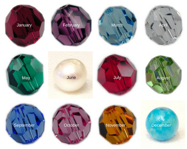 Birthstone Beads
