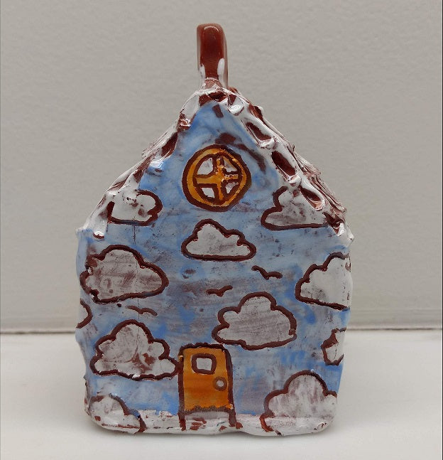 Callie Luhrman Ceramic Cloud House