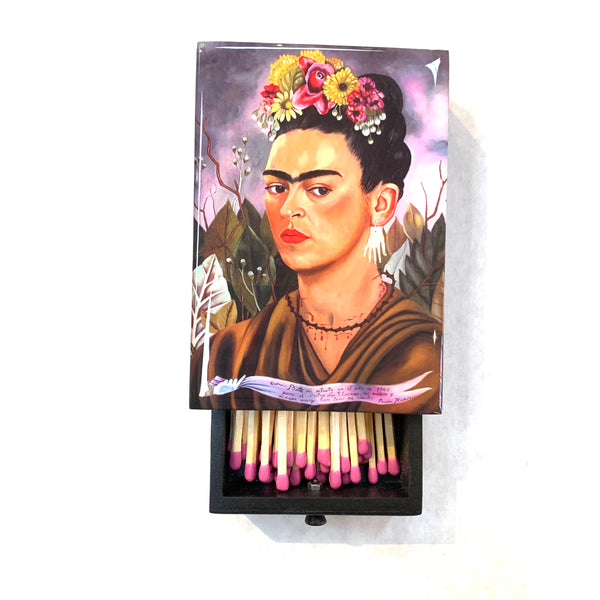 FRIDA KAHLO 1940 SELF-PORTRAIT MATCHBOX