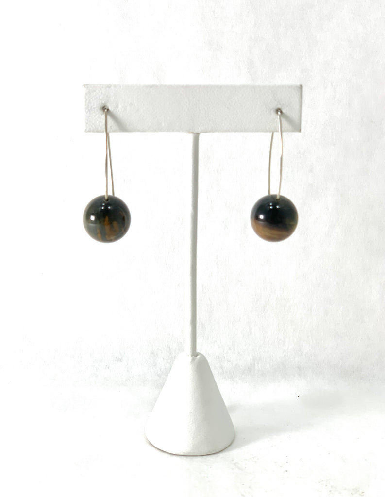 PIIETERSITE BALL EARRINGS