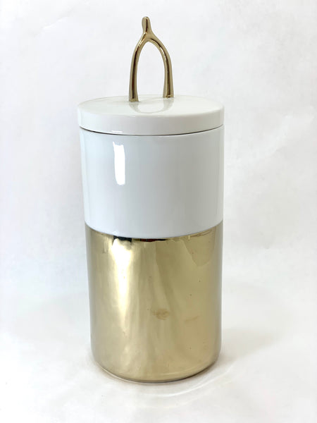 TALL WISHBONE LIDDED CANNISTER