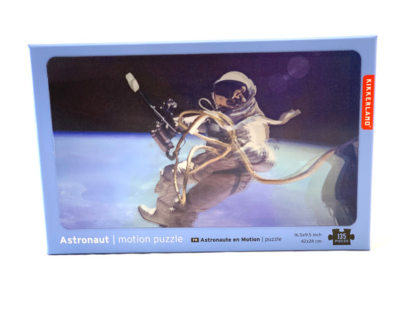 ASTRONAUT IN MOTION PUZZLE
