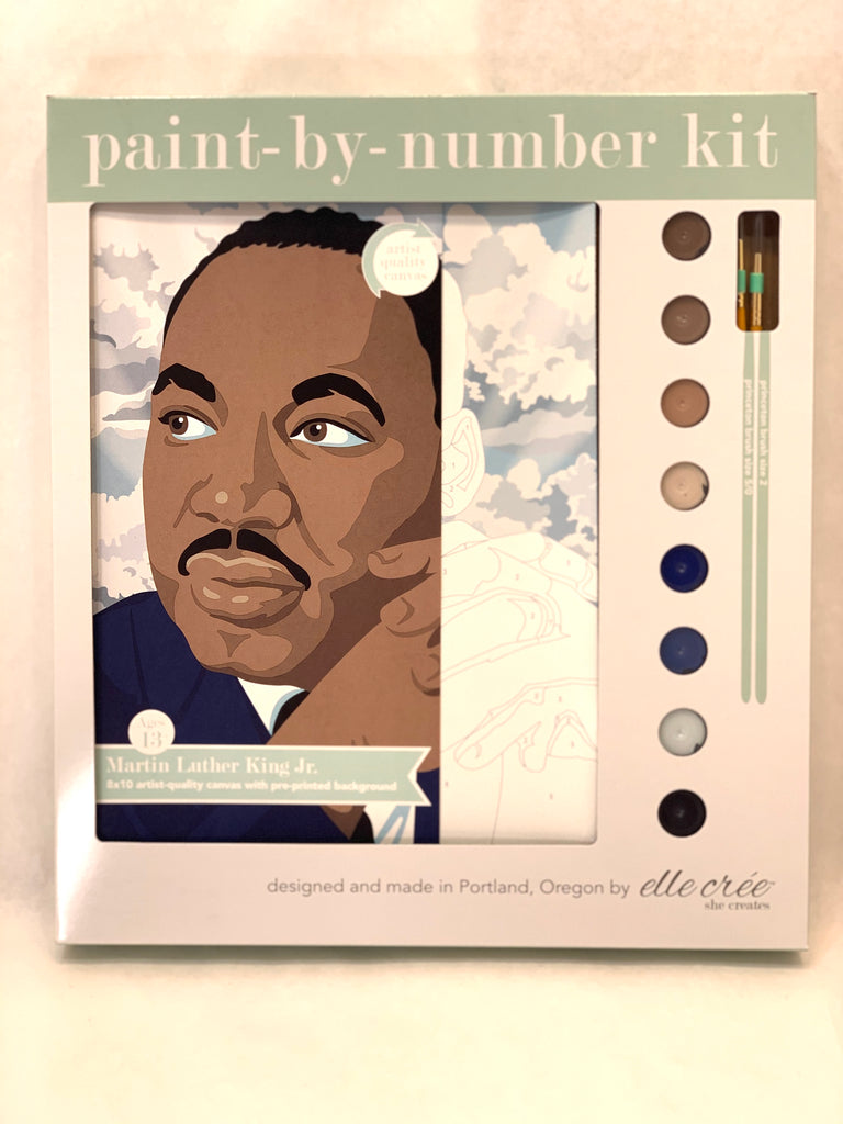 MARTIN LUTHER KING JR PAINT BY NUMBER