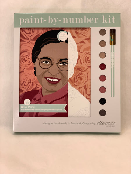 ROSA PARKS PAINT BY NUMBER KIT