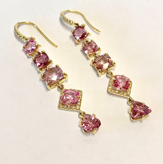GEMMA EARRINGS IN SPINEL