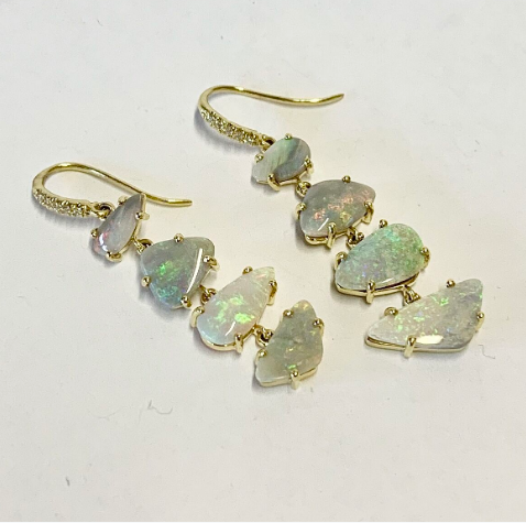 JOYCE OPAL EARRINGS
