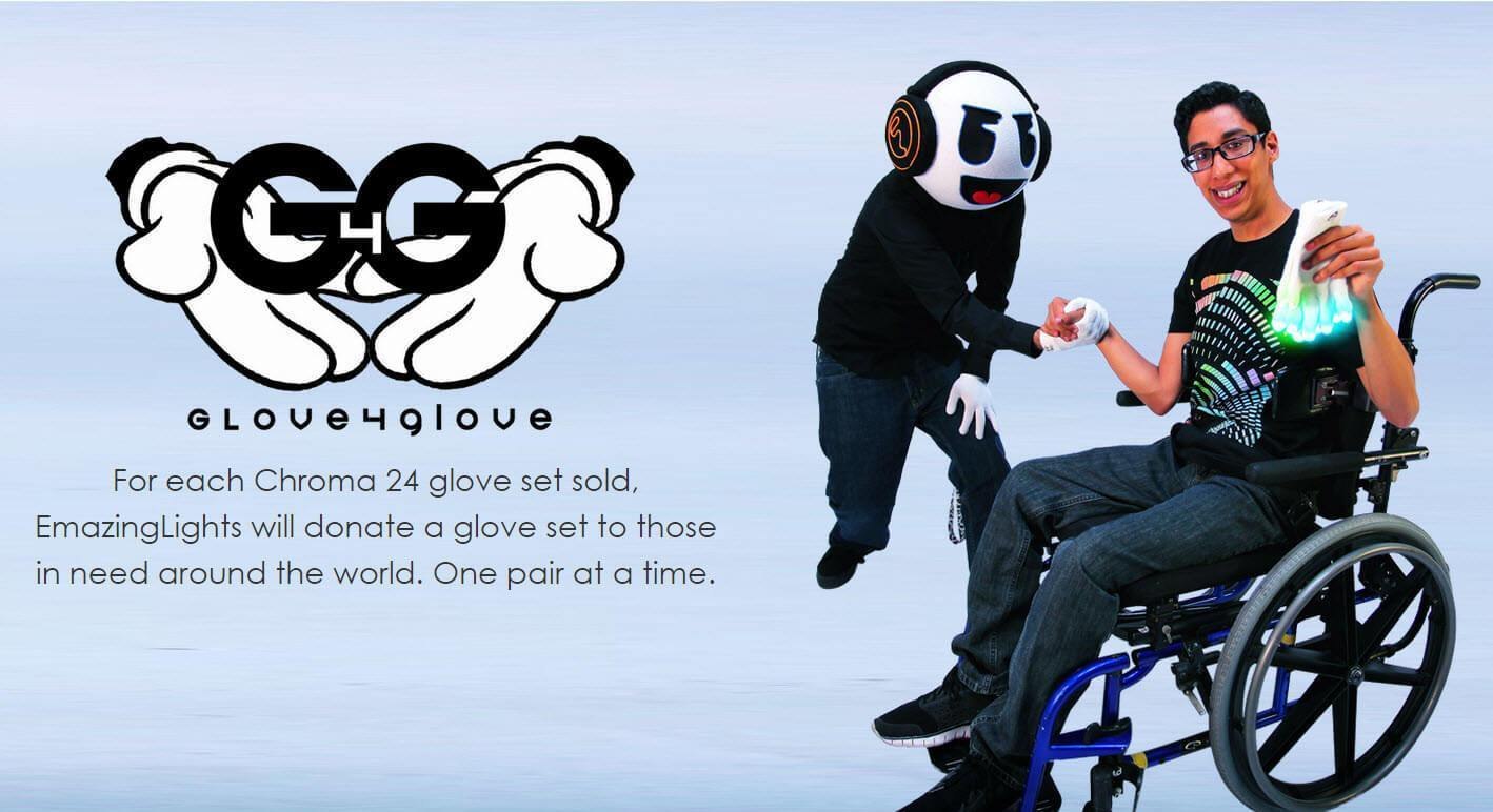 New EmazingLights Charity Initiative: Glove 4 Glove
