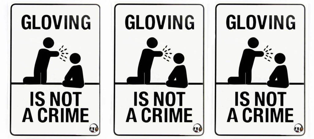 Gloving Is Not A Crime logo