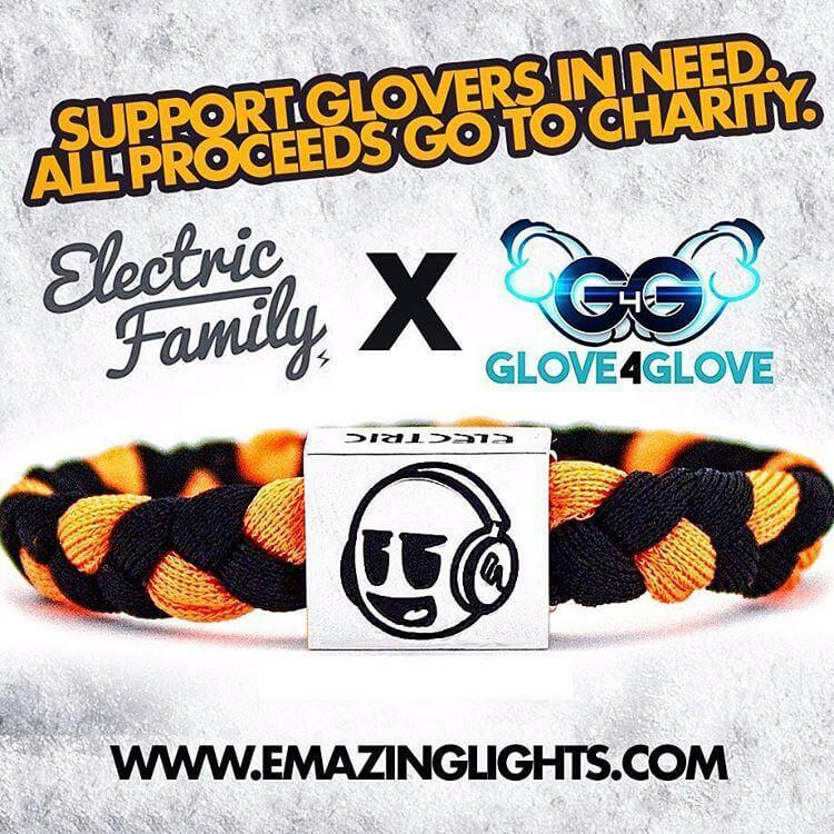 Glove 4 Glove Joins Forces With Electric Family on Bracelets