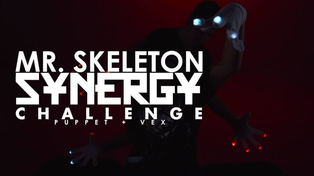 Mr. Skeleton | Synergy Challenge - [IM] Puppet + [PLL] Vex Gloving Light Show Breakdown