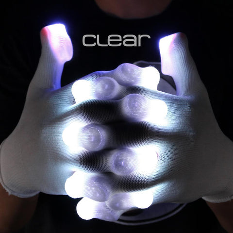 clear glove light casings