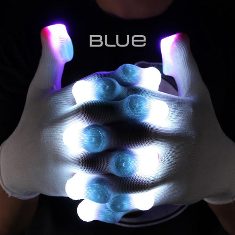 Blue Glove Light Casings