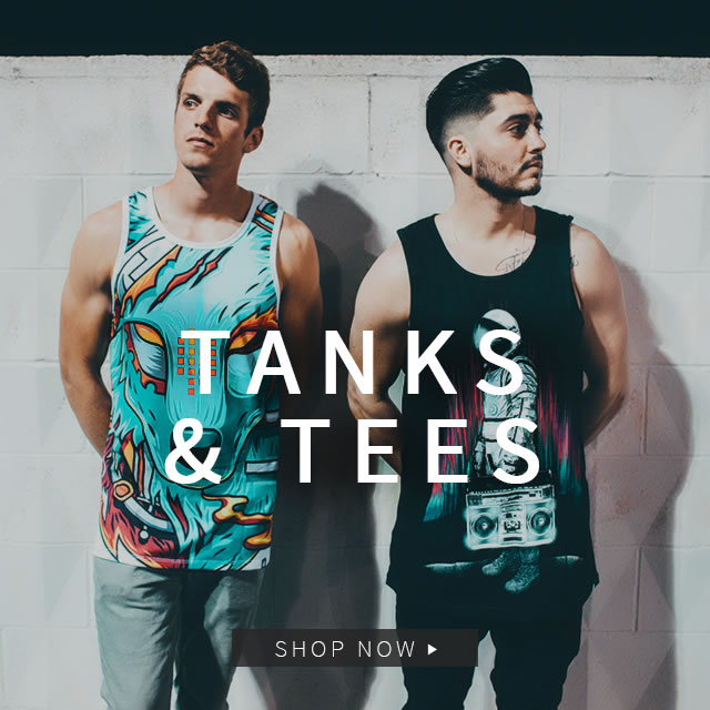 Mens Tanks and Tees