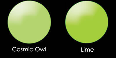 cosmic owl lime