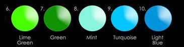 Gorgeous color options two